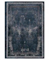 Paperblanks 2018 Midnight Steel, Midi, Lined/ 42259