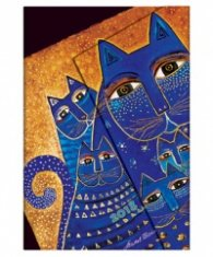Paperblanks Mediterranean Cats, Mini, Lined/ 41764