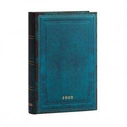Бележник Paperblanks Diary 2020, Calypso Bold, Mini/ 1250