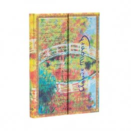 Бележник Paperblanks Diary 2020, Monet, Mini/ 1380