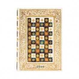 Бележник Paperblanks Diary 2020, Aureo, Midi/ 1656