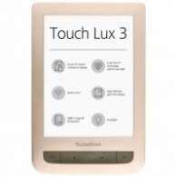 "PocketBook Touch Lux 3 PB626(2) 6"" четец за електронни книги - матово златист"