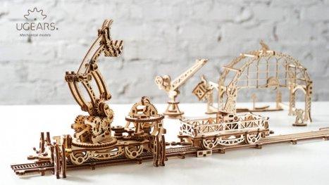 3D Механичен Пъзел - Желязопътна товарачка 120600