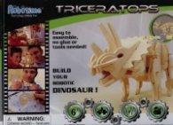 Дървен конструктор 3D пъзел Triceratoph D430