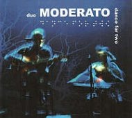 Duo Moderato - Dance for two CD