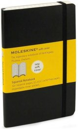 Бележник Moleskine Squared Notebook Soft Cover Pocket [7124]