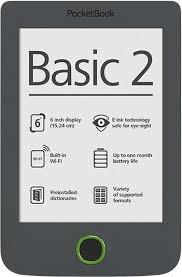 ***PocketBook Basic 2PB614W-Y-WW Grey