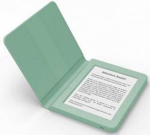 """BOOKEEN Cybook SAGA Green 15,2см/6"""" електронна книга, четец със силиконов калъф"""