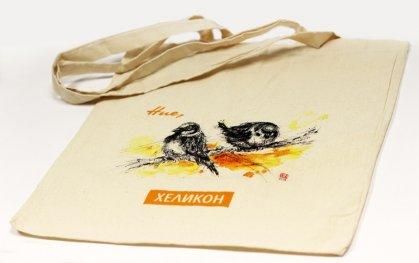 Еко торбичка Хеликон Ние, врабчетата