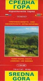 Туристическа карта Средна гора