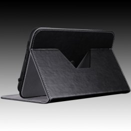 "PRESTIGIO Universal Pu leather black rotating case for most 7"" tablet PTCL0207BK"