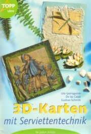 3D-Karten mit serviettentechnik