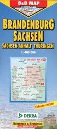 Brandenburg Sachsen/ 1: 400 000