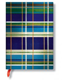 Бележник Paperblanks Mad For Plaid Midi, Lined/ 1734