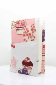 Текстилна подвързия за книга - Мъфини