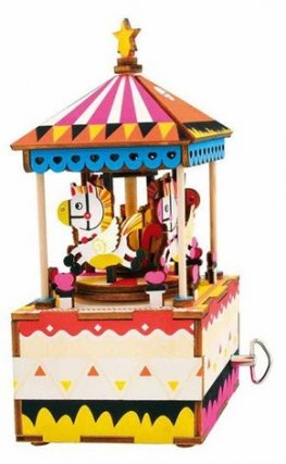3D Wooden Puzzle merry Go Round AM304
