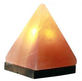 Лампа от хималайска сол Пирамида