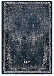 Бележник Paperblanks Dayplanners 2019 Midnight Style, Midi/ 9210
