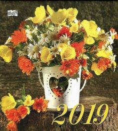 Календар 2019: Цветя