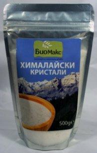 Хималайски бели кристали 500 гр, фино смлени: БиоМакс
