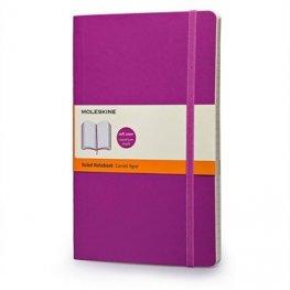 Бележник Moleskine Classic Colored Notebook Pocket Ruled Orchid Purple Soft Cover [3524]