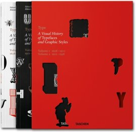 Type: A Visual History of Typefaces and Graphic Styles Vol.1,2