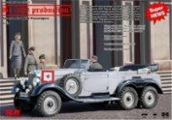 1:35 Mercedes-Benz G4 (1939 production), German Car with Passengers (4 figures) ICM35531