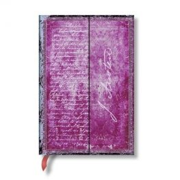 Бележник Paperblanks Embellished Manuscripts Mini Wrap, Lined/ 2106