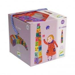 Кубчета за деца 10Nature and Animal Blocks DJ08505