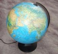 Глобус Leucht Globus 25 см светещ физически