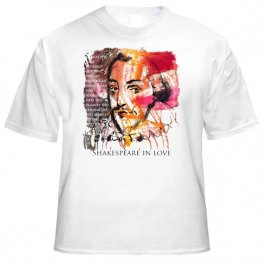 Фланелка Шекспир бяла