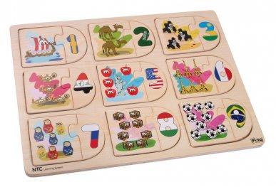 Toys Pino NTC пъзел числа 4Р009