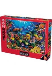 Красотата на морското дъно  - пъзел 260 части 3312