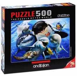 Морско селфи  - пъзел 500 части 3585
