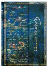 Бележник Paperblanks Monet Water Lilies Letter to Morisot, Lined, Midi Journal/ 2092