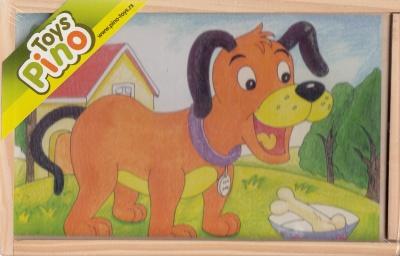 Toys Pino кубчета животни във фермата 3586-2