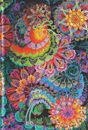 Бележник Paperblanks MOONLIGHT Olena's Garden, Mini, Lined/6300