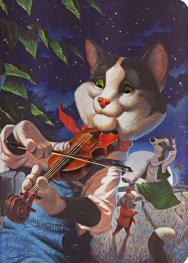 Бележник Paperblanks CAT AND THE FIDDLE Merrymakers, Midi, Liined/2212