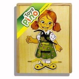 Toys Pino Пъзел за шиене - момиче 4320-1