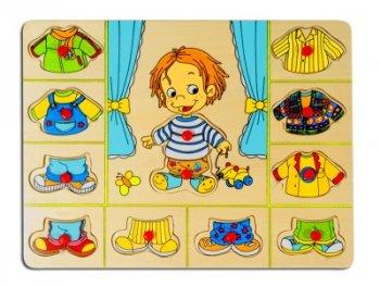 Toys Pino пъзел за обличане - момче 4479A3