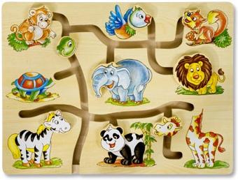 Toys Pino лабиринт - джунгла 4588-1