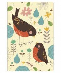 Бележник Paperblanks 2018 Diary Mother Robin, Mini, Lined/ 41665